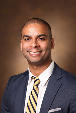 Eleby R. Washington IV, MD, a radiology resident at Vanderbilt, serves as the resident liaison to the Office of Diversity, Equity, and Inclusion.
