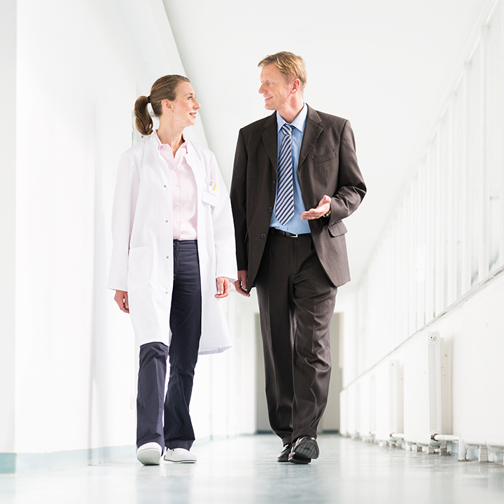 Using Walking Meetings to Increase Engagement, Reduce Burnout:  Vanderbilt University's radiology chair champions walking meetings for stronger connections and increased exercise.