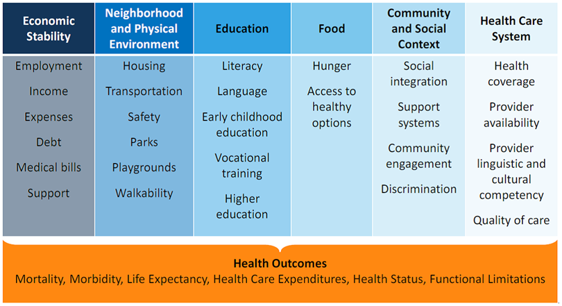 Addressing Social Determinants of Health (SDOH): Beyond the Clinic