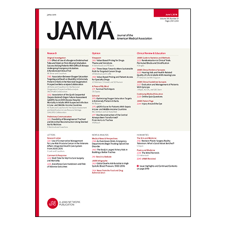 <title>Intubation Techniques for Difficult Airways, qSOFA Validity for Sepsis in Low-Resource Countries, Trachea Transplantation, and more.</title>