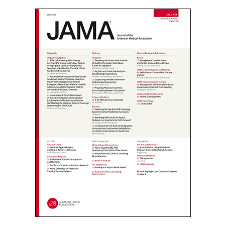 <title>HPV vs Pap Smear Screening for Cervical Cancer, Basal vs NPH Insulin For Type 2 Diabetes, Management of Infective Endocarditis, and more</title>