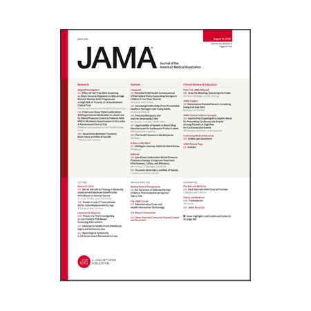 <title>Cell-free DNA Prenatal Testing, Triple-Combination Hypertension Treatment, TBI and Suicide, and more</title>
