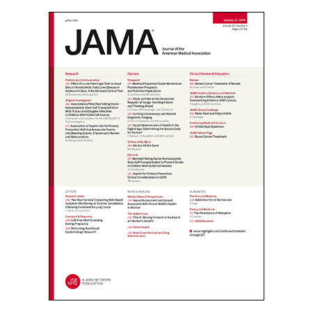 <title>Effect of Diet on NAFLD in Adolescents, HSCT for Sickle Cell Anemia, ASA for Primary Prevention and CVD, Review of Breast Cancer Treatment, and more</title>