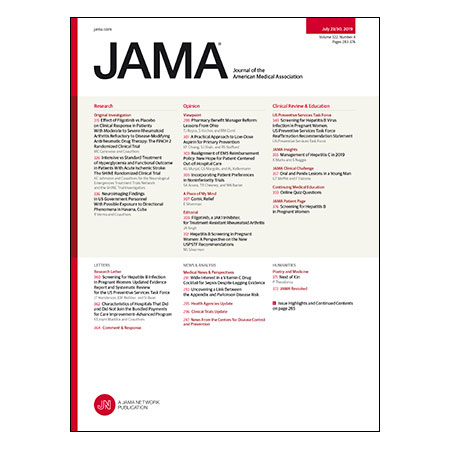 <title>Filgotinib for Treatment-Resistant Rheumatoid Arthritis, Intensive vs Standard Glucose Management in Acute Stroke, Neuroimaging Finding in US Cuban Government Personnel, and more</title>