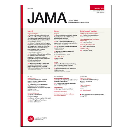<title>Sprifermin vs Placebo for Knee Osteoarthritis, Transitional Care For COPD Inpatients, Point-of-Care HbA1c Testing, and more</title>