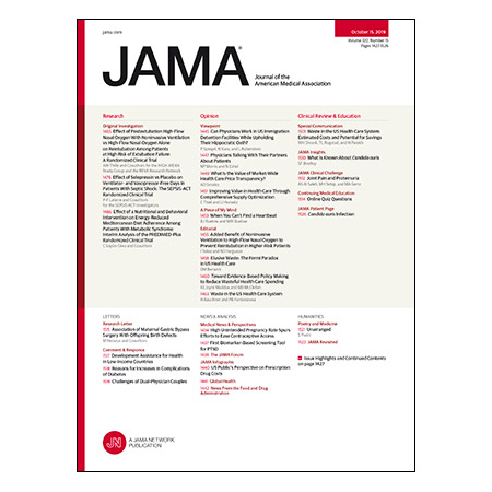 <title>NIV vs Nasal O2 Postextubation, Selepressin vs Placebo for Septic Shock, Waste in the US Health Care System, and more</title>