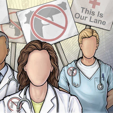 <title>Physicians Are Steering the Conversation About Gun Violence</title>