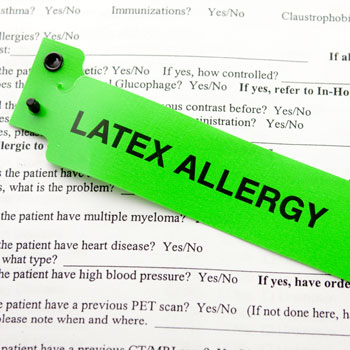<title>Managing Patients With a Latex Allergy</title>